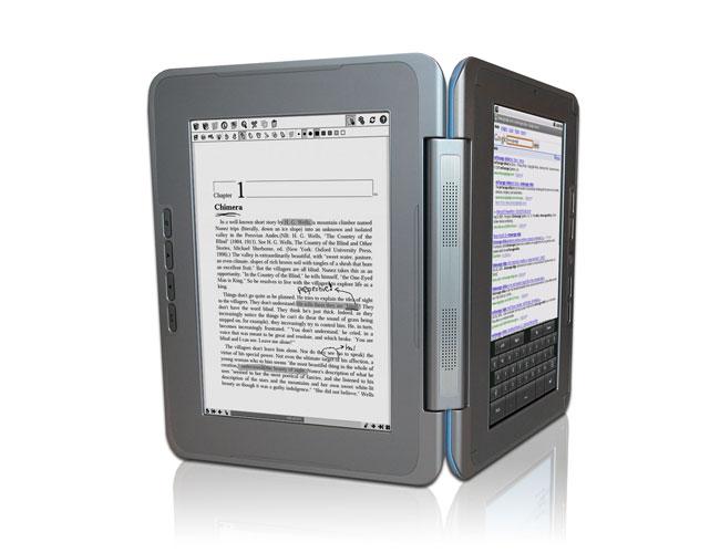 kompakter dual screen reader von astri lesen