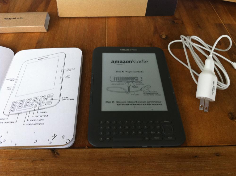 Amazon Kindle 3 Wi-Fi im (Leser-)Test » lesen.net