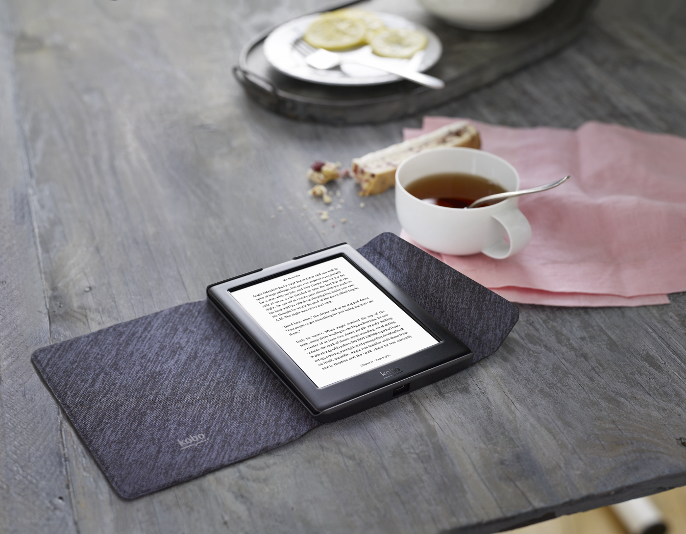 how to turn on kobo glo