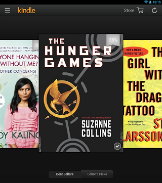 kindle for android carousel