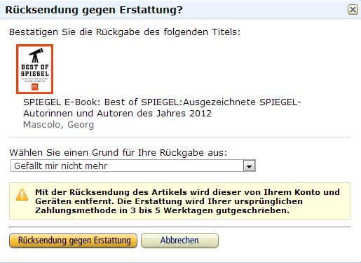 kindle rueckgabe 2