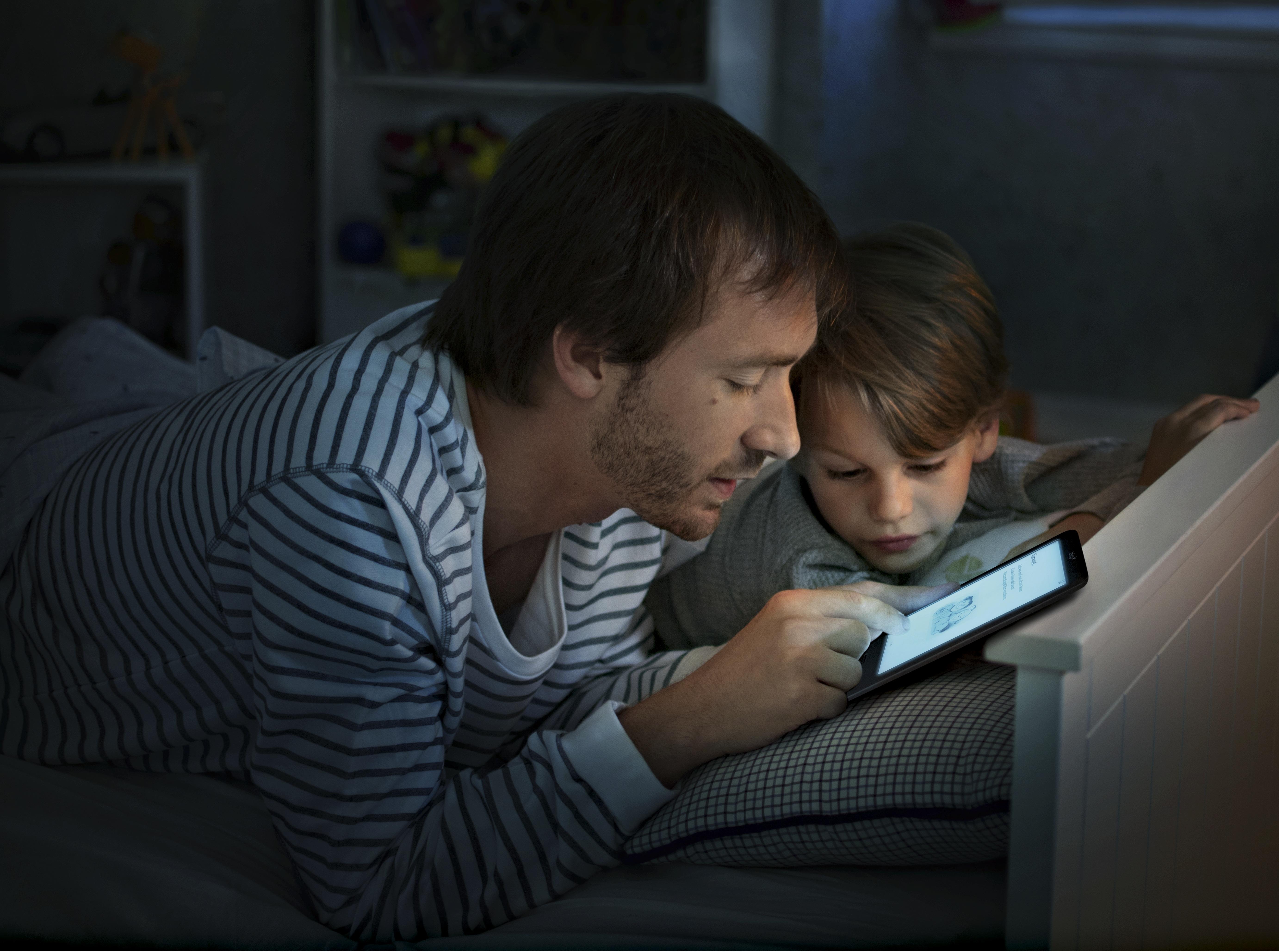 tolino shine integrierte beleuchtung. Black Bedroom Furniture Sets. Home Design Ideas