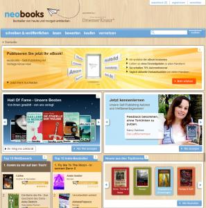 Mit 100Fans im Wettstreit um Autoren: Self-Publishing-Portal Neobooks
