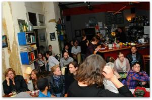 Präsenz auch außerhalb des Internets: Party zum Start von Das Beben