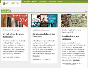 wasliestdu.de (Blick ins Magazin)