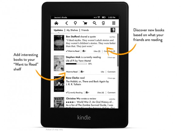 Kindle Paperwhite 2: Firmware Update bringt FreeTime