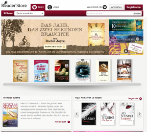 Größte epub-Auswahl: Sony eBook Store