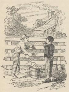 Tom Sawyer wusste, wie man ungeliebte Pflichten umgeht.