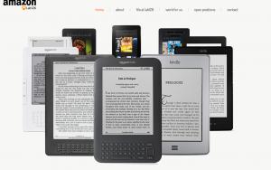 Amazon-Hardware (Website des Lab126)