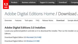 Adobe Digital Editions 3: Verfügbar für Mac und PC