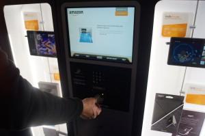 Bezahlt wird mit Kreditkarte