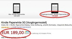 Derzeit gibt es offenbar leichte Preisverwirrung bei Amazon.