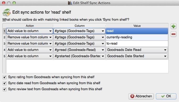 "Regal ""read"", ""Shelf Sync Actions"""