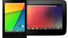 "Google Nexus Tablets: 7"", 10"""