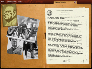 Spionagethriller mit Hintergrundinformationen: Operation Ajax