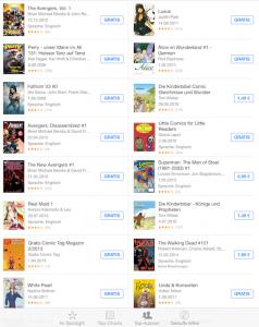 iBooks bietet viele kostenlose Titel an.
