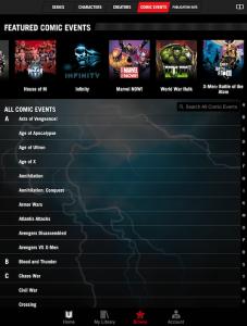 Marvel Unlimited bietet Zugriff auf tausende Comics – auf Wunsch auch nach Handlungsbogen sortiert