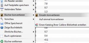 eBook konvertieren mit Calibre