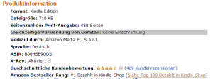 Kopierschutzfreies eBook bei Amazon