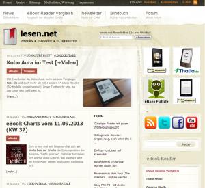 Altes Design (Mai 2009 bis September 2013)