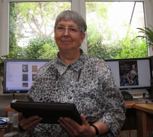 E-Book-Verlegerin Gisela Pekrul