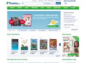 Thalia.de Startseite