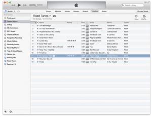 iTunes Musikverwaltung