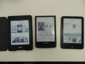 Kindle PW, Pocketbook Ultra, Tolino Vision (alle mit 100% Beleuchtung)