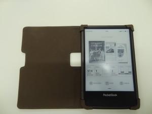 Pocketbook Ultra im Kunstleder-Cover