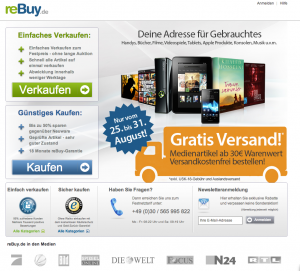 Bücher-Ankäufer rebuy: Lob von Verbraucherzentrale und Computerbild