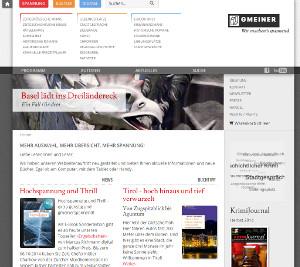 Webseite des Gmeiner Verlags