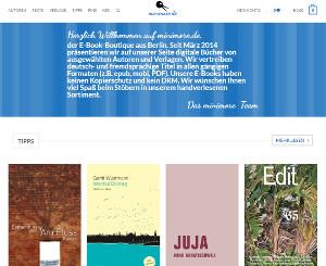 Startseite von minimore.de