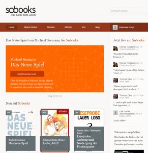 Sobooks Startseite
