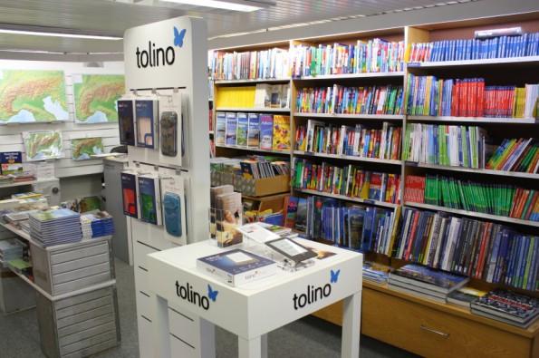 Tolino-Präsentation in der Buchhandlung Stöppel