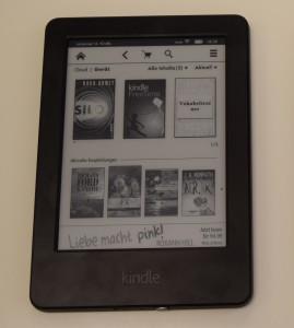 """Kindle (2014) (""""Spezialangebot"""" ganz unten)"""