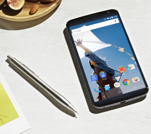 Google Nexus 6: Smartphone in eBook-Reader-Größe