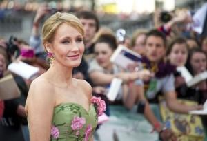Bekam männliches Pseudonym angeraten: J.K. Rowling
