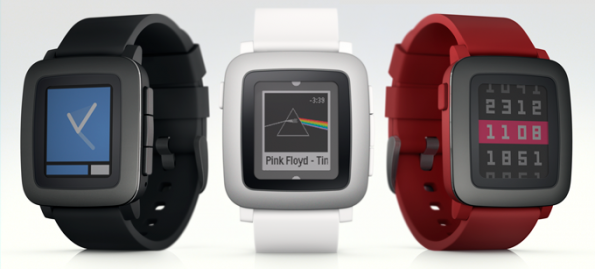 pebble time farben