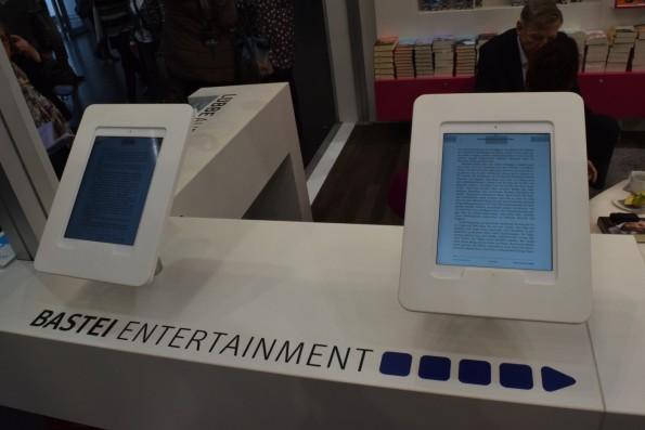 ...und einschlägigen Demo-Tablets bei den Verlagen spielte Hardware in Leipzig aber erwartungsgemäß keine Rolle.