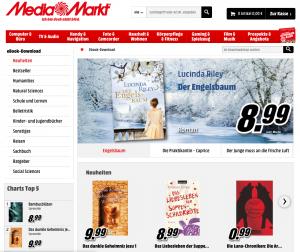 Kein Erfolgsmodell: eBook Store von Media Markt