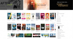 Screenshot iBooks-Store