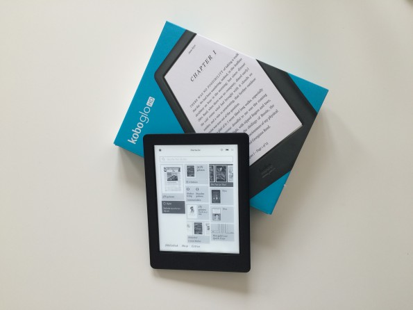 kobo glo video feature