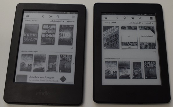 """Kindle """"mit Spezialangeboten"""" (unten), Kindle Paperwhite 3 (2015)"""