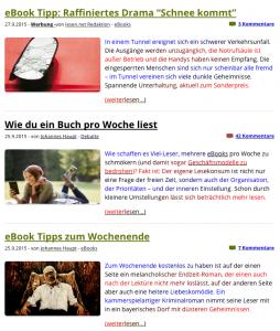 Beeline auf lesen.net