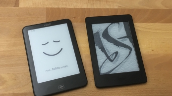 Tolino Vision 3 Kindle Paperwhite 3 2