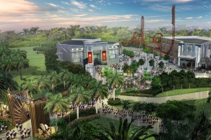 Entwurf für Themenpark
