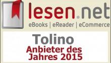 award tolino anbieter des jahres 2014
