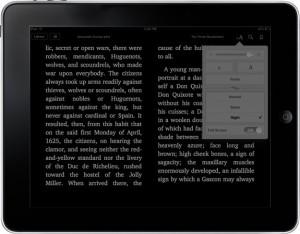 Nachtlesemodus bei iBooks