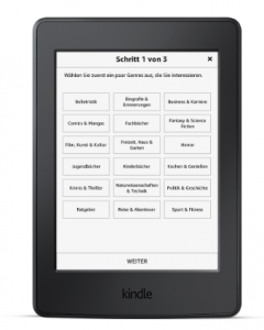 kindle genres