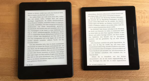 kindle oasis kindle pw3 vgl 2